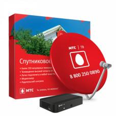 Комплект спутникового ТВ МТС с ресивером и картой доступа на 6 месяцев
