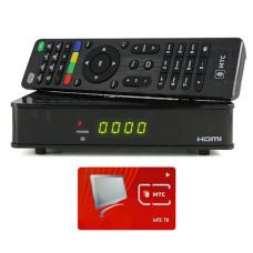 Спутниковый ресивер МТС ТВ с картой доступа на 6 месяцев