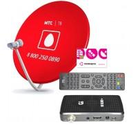 Комплект Телекарта ТВ Full HD с ресивером Gi HD Slim3+