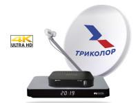 Комплект Триколор на два телевизора с поддержкой Ultra HD (4K)